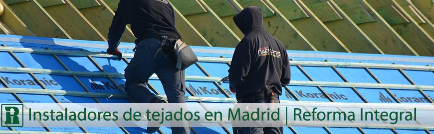 instaladores de tejados en madrid