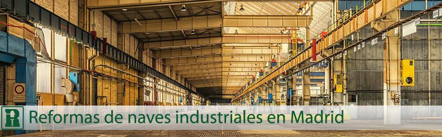 reformas de naves industriales en madrid
